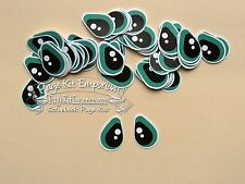 Tear Bear Animal People Eyes 36 Sets LARGE GREEN Eyes Handmade PKemporium