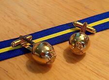 Royal Horse Artillery RHA Regimental ball button cufflinks