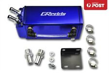 1L SQUARE G-STYLE BILLET OIL CATCH ALUMINUM ENGINE RESERVOIR BREATHER TANK/CAN