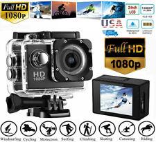 1080P Ultra HD Sport Action Camera DVR DV Helmet Cam Waterproof Camcorder US