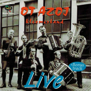 OT AZOJ KLEZMERBAND Live (CD 2000) Made in EU World Music Jewish
