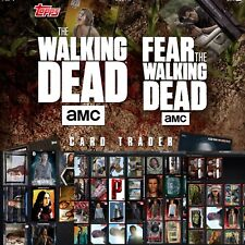 Topps Walking Dead Card Trader Pick 9 Cards For $3 ( Inserts Variants Rare )NEW!