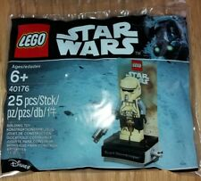 Star Wars Lego 40176 Scarif Stormtrooper mini figure polybag NEW SEALED 2017
