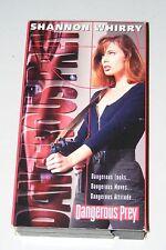 Vintage 1995 VHS Video Cult Movie Dangerous Prey Shannon Whirry Girl Mercenaries