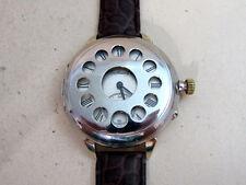 HENRY MOSER Full Hunter Swiss antique men's mechanical wristwatch