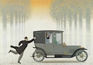 Postkarte: Jan Balet - 66 - Orpheus & Eurydike / 1913 / Oldtimer