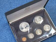 1973 British Virgin Islands 6 Coin Proof Set Franklin Mint Silver Dollar B7755
