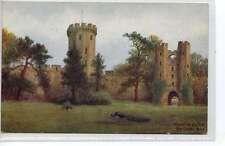 (Ln082-373) W W Quatremain, Warwick Castle, The Court Yard,  c1910 *3208