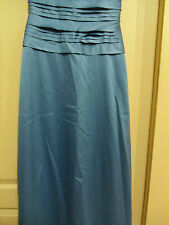 NWOT JS Collections Laser Cut LONG  GOWN SIZE 4 Light  Blue