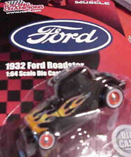 1932 Ford Roadster Black 1:64 Racing Champions 78132