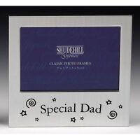 Special Dad Satin silver photo frame-shudehill Giftware