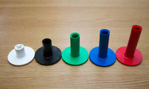 Pack Of 5 Brand New Golf Rubber Tees