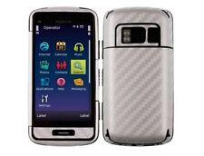 Skinomi Carbon Fiber Full Body + Screen Protector Film for Nokia C6-01