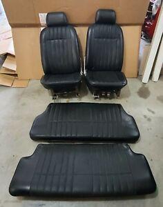Honda N360 Complete Seat Set. Should also fit N600.