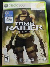 Tomb Raider: Underworld (Microsoft Xbox 360) Cib - Tested