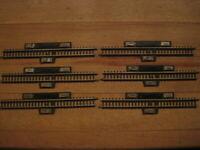 Märklin Mini-Club Spur Z 6 x 8599 Schaltgleisstück gerade 110mm  aus Rückbau