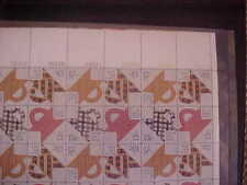 1745-8 Folk Art Quilts Sheet Of 48 Face 6.24