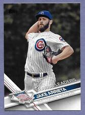 2017 Topps #270 Jake Arrieta Chicago Cubs League Leader  in Near Mint Condition