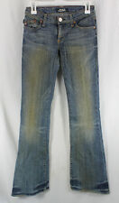 Original Rock Republic Roth Jeans Denim Womens Size 00, 24 Flare Low Rise Sample