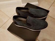 $695 Bottega Veneta Men's Navy Denim  Slip-on sneaker Authentic US 9.5 EU 42.5