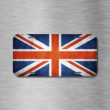 UK Vehicle Front License Plate Auto Car United Kingdom Britain British Europe