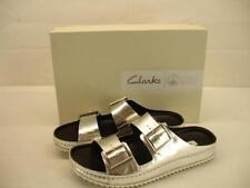 Clarks Leather Slides 8.5 Sandals & Flip Flops for Women