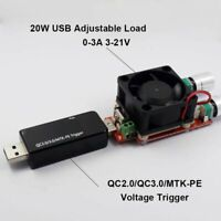 QC2.0/qc3.0/MTK-PE USB Trigger Tester/Induction Quick Charge Voltage Detector