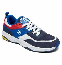 Tg 42 - Scarpe Uomo Skate DC Shoes E.Tribeka SE Blue Red Sneakers Schuhe 2019