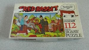 Vintage Fred Basset Jigsaw Puzzle - 112 Piece