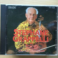 Stephane Grappelli in Tokyo   Rare CD French Jazz Violinist