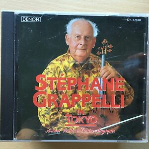 Stephane Grappelli in Tokyo CD French Jazz Violinist