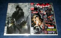 BATMAN #91 B MATTINA variant & A BOTH 1st print set (2) DC 2020 HARLEY QUINN NM