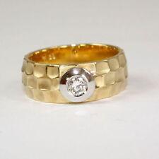 Ringe aus Gelbgold mit sehr gute (17,5 mm Ø) von 55