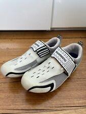 New listing White Shimano Triathlon Cycling Shoes size 45