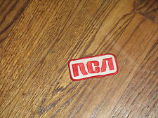 rca  patch, 1960's, new old stock