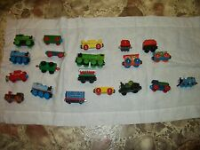 Thomas the Train  LOT of 15  Trains Engines mixed lot some wooden and others