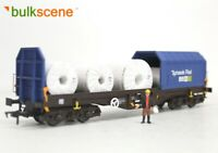 BULKSCENE - WHITE WRAPPED METAL COILS FOR DAPOL STEEL WAGON (x5) OO GAUGE 1/76