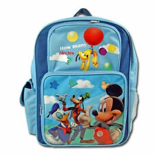 """Backpack 16"""" MICKEY DONALD GOOFY Cargo Multi-Compartment New"""