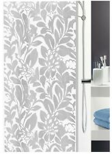 Shower Curtain Nora Grey-Grey White 180 x 200 cm. High quality textile Brand