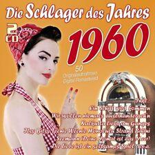 DIE SCHLAGER DES JAHRES 1960 2 CD NEU