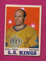 1970-71 OPC  # 163 LA KINGS NOEL PRICE EX CARD  (INV#4763)