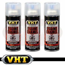 VHT Engine Enamel High Temperature Spray Paint Clear Gloss SP145 x 3 cans