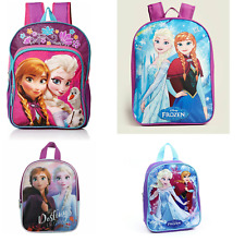 Frozen Elsa Anna Girls School Backpack Lunch box Book Bag Kids Toddler Toy Gift