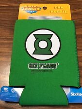 New Six Flags Green Lantern Can Koozies