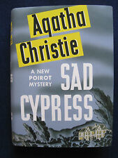 SAD CYPRESS by AGATHA CHRISTIE 1st U.S. Edition in Fine Facsimile Jacket