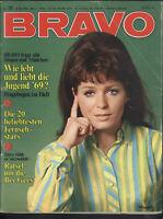 BRAVO Nr.22 vom 26.5.1969 High Chaparral, Bee Gees, Werner Pochath, Sandy Shaw