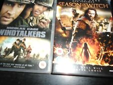 Windtalkers  & Season of the witch Dvd    Nicolas Cage