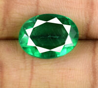Muzo Colombian Emerald Collection 7-9 Ct Natural Untreated Oval AGSL Certified