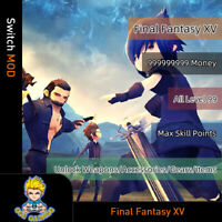 Final Fantasy XV(Switch Mod)-Max Moeny/Level/SP/Weapons/Accessories/Gears