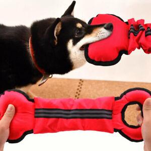 Dog Chew Ball Toy Rubber Dental Clean Teeth Healthy Treat Gum BT